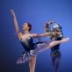"""Paula Krivickaitė ir Benas Davisas šoka """"Mėlynojo paukščio ir princesės Florinos pas de deux"""" iš baleto """"Miegančioji gražuolė"""". M. Aleksos nuotr."""