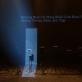"""Scena iš garso instaliacijos-performanso """"Olympian machine"""". M. Aleksos nuotr."""