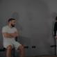 """Tadas Gryn, Indrė Patkauskaitė ir Martynas Klementjevas spektaklyje """"Bang!"""". V. Ruzgaitės nuotr."""