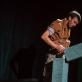 """Vygandas Vadeiša spektaklyje """"Miražas"""". D. Putino nuotr."""
