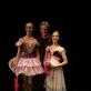 Kristine Moe (Norvegija), Jon Kåge (atrankinio baleto konkurso Švedijoje organizatorius) ir Julija Stankevičiūtė. Asmeninio archyvo nuotr.