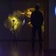 """Linas Kutavičius, šviesos instaliacija """"Amberscope"""". 2015–2019 m. K.L. Richterio nuotr."""