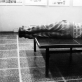 "Donatas Srogis, ""Skurdus performansas ant teniso stalo"". 1989 m."