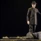 """Scena iš spektaklio """"Vėlinės"""". D. Matvejevo nuotr."""