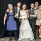 """Scena iš spektaklio """"Vestuvės"""". OKT nuotr."""