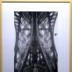 """Juozas Budraitis, """"Antoine'o Bourdelle'o sukurtas Gustave'o Eiffelio biustas po Eifelio bokštu"""", Paryžius. 1979 m. Iš autoriaus archyvo. A. Narušytės nuotr."""