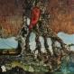 """Bronius Gražys, """"Paskutinė stotelė"""". 1983 m. Autoriaus nuotr."""