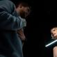 """Arnas Ašmonas ir Roberta Sirgedaitė spektaklyje """"SoDra, Mon Amour"""". D. Ališausko nuotr."""