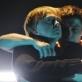 """Darius Meškauskas (Hamletas) ir Dainius Gavenonis (Klaudijus, Šmėkla) spektaklyje """"Hamletas"""". D. Matvejevo nuotr."""