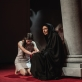 """Fausta Semionovaitė ir Regina Šaltenytė spektaklyje """"Antigonė"""". K. Meliausko nuotr."""