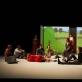 """Scena iš spektaklio """"Tolima šalis"""". Ch. Raynaud de Lage nuotr."""