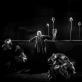"""Scena iš spektaklio """"Vėlinės"""" (2018). D. Matvejevo nuotr."""