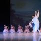 """Vakarė Radvilaitė ir Deividas Dulka scenoje iš baleto """"Gėlių šventė Džendzane"""". M. Aleksos nuotr."""