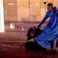 """Viktorija Kuodytė (Gineverė) spektaklyje """"Nusiaubta šalis"""". Teatro """"Utopia"""" archyvo nuotr."""