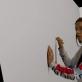 """Vilma Pitrinaitė videoperformanse """"Tai ne tavo sapnas""""."""
