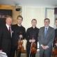 """Dr. J. Honsigas-Erlenburgas, Austrijos ambasadorium dr. J. Špicerisas ir styginių kvartetas """"Mettis"""""""