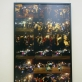 """Oksana Judakova, """"Helovyno paradas Niujorke"""", 2016 m., paroda Laikrodinėje bibliotekoje, Plungė, 2018 m. A. Narušytės nuotr."""