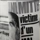 """Juozas Budraitis, """"François Mitterrand'o politinė afiša"""", Paryžius. 1979 m. Iš autoriaus archyvo"""