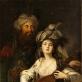 """Antonas Hickelis, """"Rokselana ir sultonas"""", XVIII a."""