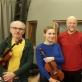 Arvydas Malcys su Asta Krikščiūnaite ir Vilniaus kvartetu. Nuotrauks iš asmeninio archyvo