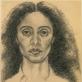 """Adrian Piper, """"Autoportretas su išryškintais mano negroidiniais bruožais"""". 1981 m."""