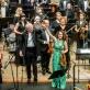 Alena Bajeva, Gintaras Rinkevičius ir Lietuvos valstybinis simfoninis orkestras. D. Matvejevo nuotr.