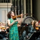 Alena Bajeva ir Lietuvos valstybinis simfoninis orkestras. D. Matvejevo nuotr.