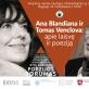 Ana Blandiana ir Tomas Venclova: apie laisvę ir poeziją