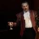 """Tadas Girininkas (Henrikas VIII)  ir Raffaella Lupinacci (Džeinė Seimur) operoje """"Ana Bolena"""". M. Aleksos nuotr."""