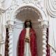 Antakalnio Jėzaus skulptūra (Roma, Vilnius, 1700 m.) Vilniaus Šv. apaštalų Petro ir Povilo bažnyčios altoriuje. Fot. Arūnas Baltėnas