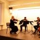 """Styginių kvartetas """"Art Vio"""". P. Popovaitės nuotr."""