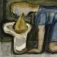 """Arvydas Šaltenis, """"Moteris"""". 1972 m. Modernaus meno centro archyvas"""