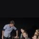Scena iš spektaklio repeticijos