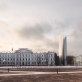 Audriaus Ambraso obelisko Aukų gatvėje vizualizacija