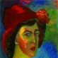 Mariana Veriovkina, Autoportretas. 1910 m.