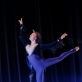 "Choreografas Michail Moisejev (1882–1955). Igorio Morozovo baleto ""Daktaras Aiskauda"" fragmentai. 1954. Kregždutės variacija. Šoka Marina Filipova (12 kl.), mokytoja Loreta Bartusevičiūtė. Martyno Aleksos nuotrauka"