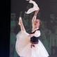 """Choreografas Vytautas Grivickas (1925–1990). Juliaus Juzeliūno baleto """"Ant marių kranto"""" fragmentai. 1953. Onės šokis. Šoka Rūta Karvelytė (9 kl.), mokytoja Gražina Dautartienė. Martyno Aleksos nuotrauka"""