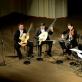 Baltijos gitarų kvartetas ir Vilhelmas Čepinskis. S. Lipčiaus nuotr.
