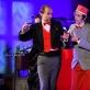 """Operos """"Pimpinonė"""" atlikėjai Karstenas Krügeris ir Claudio Levati. V. Abramausko nuotr."""