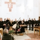 """Koncerto """"Bogurodzica"""" pabaigos akimirka. R. Dakševič nuotr."""