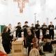 """Koncerto """"Oratio Dominica"""" akimirka. R. Dakševič nuotr."""