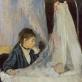 "Berthe Morisot, ""Lopšys"". 1872 m."
