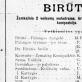 """Operos """"Birutė"""" programa 1906 m."""