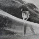 """Raimondo Vabalo filmo """"Birželis, vasaros pradžia"""" iškirpta tinklų metafora, 1969 (iš """"Gosfilmofondo"""" archyvo)"""