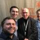 Vytis Smolskas, Julijus Grickevičius, festivalio organizatorius Ulis Beckerhoffas, Dmitrijus Golovanovas. Iš autoriaus asmeninio archyvo