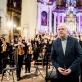 Bronius Kutavičius ir Lietuvos nacionalinis simfoninis orkestras. D. Matvejevo nuotr.