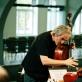 M. Brunello repeticijoje Rygoje. Nuotrauka iš www.failiem.lv