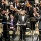 Corby Welch, Edgaras Davidovičius, Gintaras Rinkevičius ir Valstybins simfoninis orkestras. D. Matvejevo nuotr.