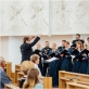 """Choras """"Polifonija"""". Dirigentas Linas Balandis. A. Lavickienės nuotr."""