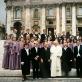 """Choras """"Polifonija"""" Vatikane 1992 m. Choro archyvo nuotr."""